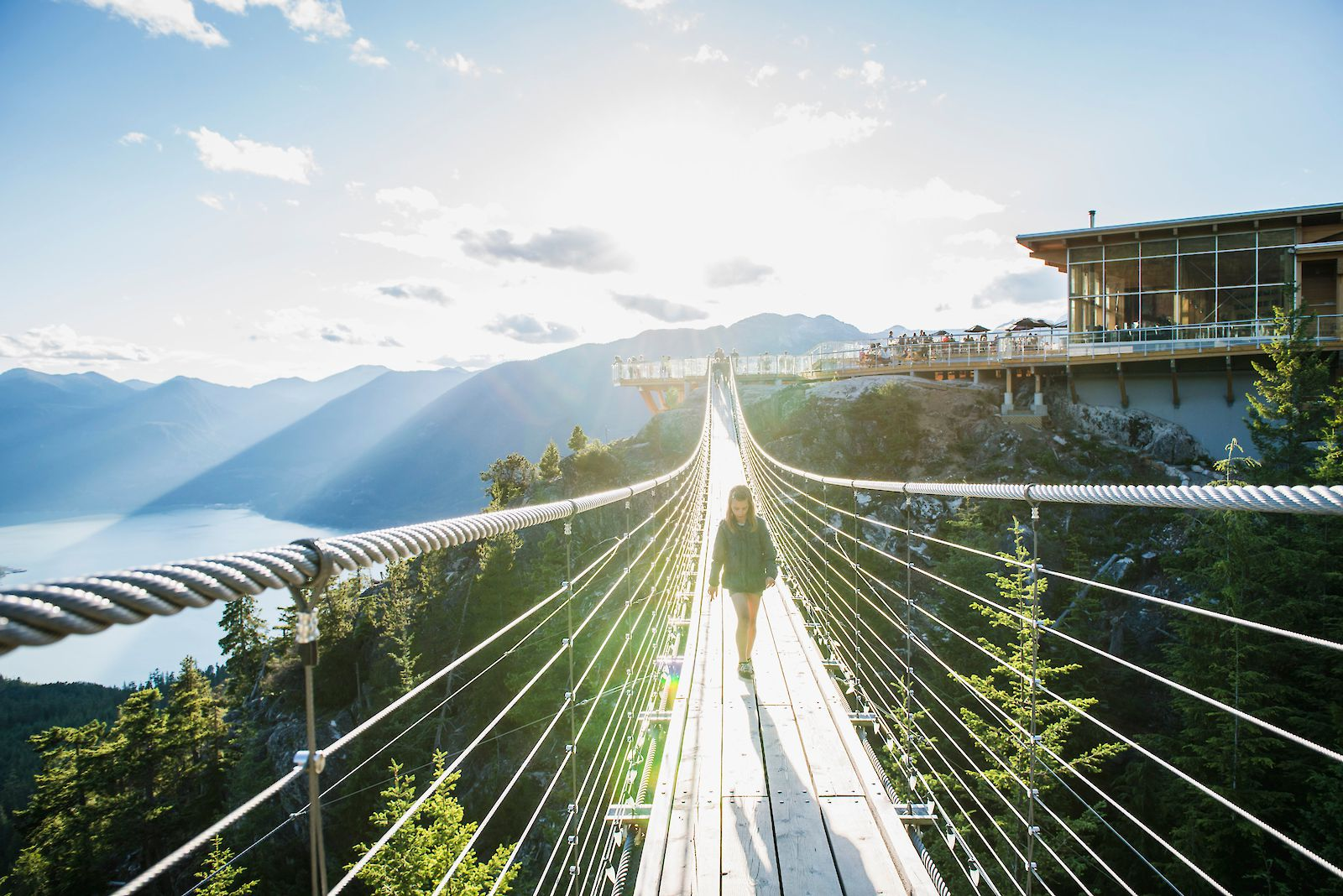 Sea to Sky Gondola Summer Suspension Bridge