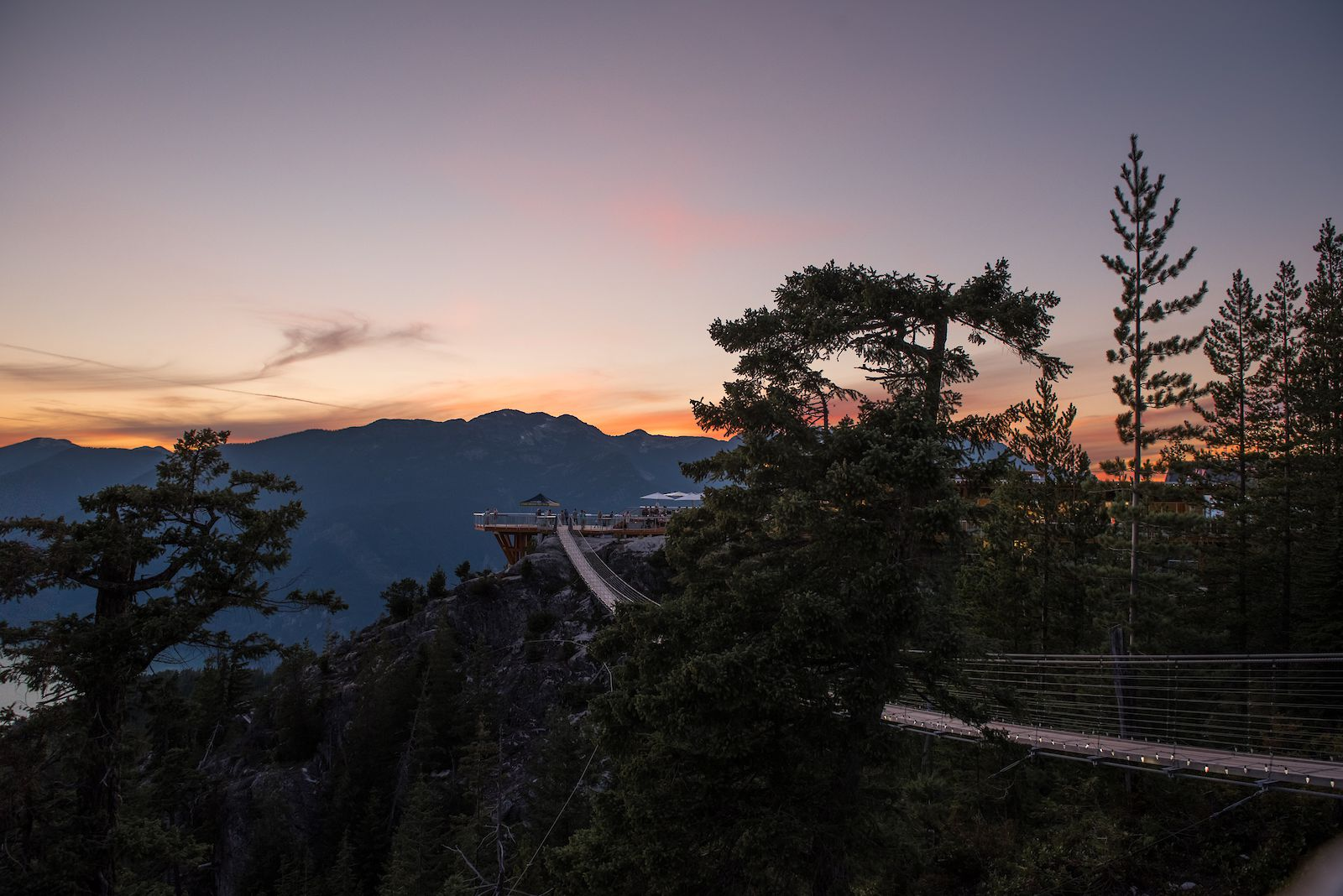 Sea to Sky Gondola Summer Sunset